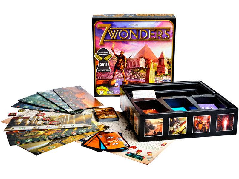 Содержимое коробки 7 чудес