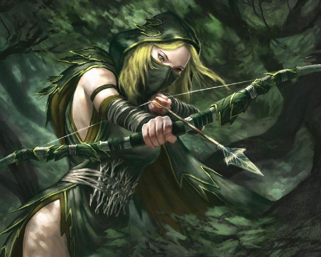 Эльфийка-следопыт