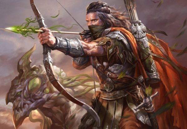 Воин-лучник